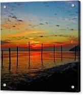 Haverstraw Bay Sunrise Acrylic Print