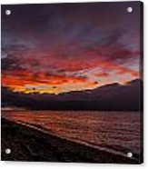 Hawaii Sunset Acrylic Print