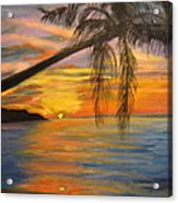 Hawaiian Sunset 11 Acrylic Print