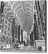 Hays Galleria London Sketch Acrylic Print