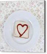Hearty Toast Acrylic Print