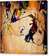 Heath Ledger The Joker Collection Acrylic Print