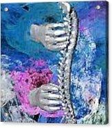 Heealing Touch Acrylic Print