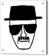 Heisenberg Breaking Bad Acrylic Print