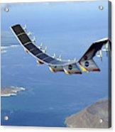 Helios Prototype, Solar-electric Acrylic Print