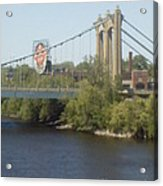 Hennepin Bridge Acrylic Print