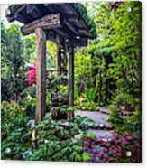 Hidden Garden Well Acrylic Print