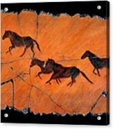 High Desert Horses Acrylic Print