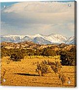 High Desert Plains Landscape Acrylic Print