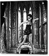 High Fashion Abandoned Church Acrylic Print