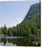 High Mountain Lake Acrylic Print