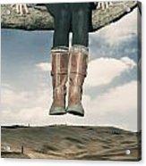 High Over The World Acrylic Print