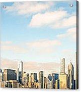 High Resolution Large Photo Of Chicago Skyline Acrylic Print
