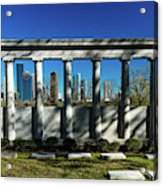 High Rise Buildings In Houston Acrylic Print