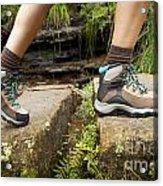 Hiking Boots Acrylic Print