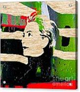 Hillary Clinton Acrylic Print