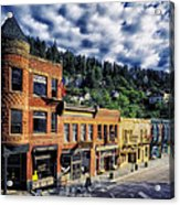 Historic Deadwood Acrylic Print