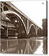 Historic Wil-cox Bridge Acrylic Print