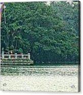 Hoan Kiem Lake II Acrylic Print