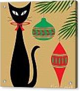 Holiday Cat Acrylic Print