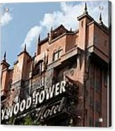 Hollywood Tower Acrylic Print