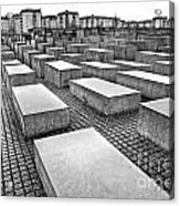 Holocaust Memorial - Berlin Acrylic Print