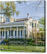 Home On St. Charles Ave - Nola Acrylic Print