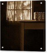 Homestead Kitchen Acrylic Print by Bonnie Bruno