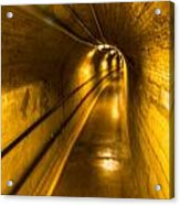 Hoover Dam Tunnel Acrylic Print