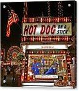 Hot Dog On A Stick Acrylic Print