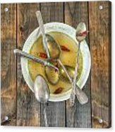 Hot Soup Acrylic Print by Joana Kruse