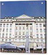 Hotel Esplanade Zagreb Acrylic Print by Borislav Marinic