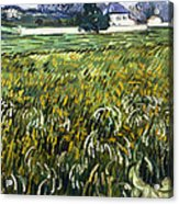 House At Auvers Acrylic Print
