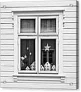 Houses And Windows Acrylic Print