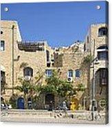 Houses In Jaffa Tel Aviv Israel Acrylic Print