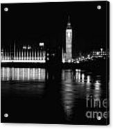 Houses Of Parliament And Big Ben Acrylic Print