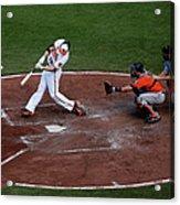 Houston Astros V Baltimore Orioles 1 Acrylic Print