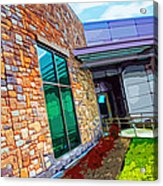 Howard County Library - Miller Branch Acrylic Print