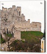 Hrad Beckov - Castle Acrylic Print