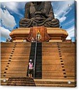 Huay Mongkol Temple Acrylic Print
