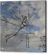 Human Flight  Acrylic Print