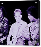 Humble Pie - On To Victory Tour At The Cow Palace S F 5-16-80 Acrylic Print