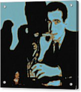 Humphrey Bogart And The Maltese Falcon 20130323m88 Square Acrylic Print