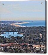 Huntington Beach View Acrylic Print