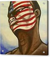 I Am American Acrylic Print