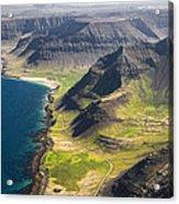 Iceland Plateau Mountains Acrylic Print
