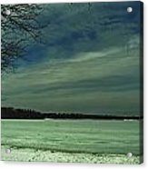 Icing On The Lake Acrylic Print