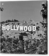 Iconic Hollywood Sign Acrylic Print