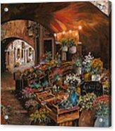 Il Mercato Dei Fiori Acrylic Print