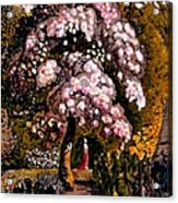 In A Shoreham Garden Acrylic Print